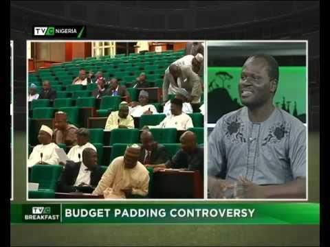 Budget Padding Controversy