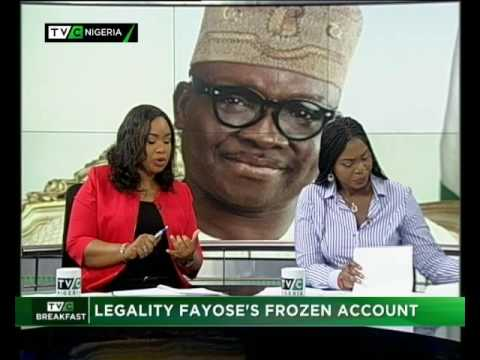 Okorie Emmanuel's interview with TVC ews