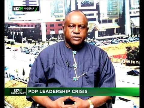 PDP LEADERSHIP CRISIS – TVC BREAKFAST SHOW