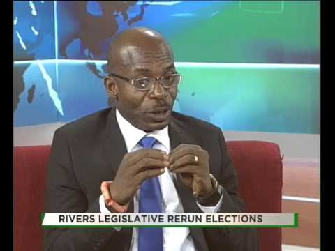 TVC BREAKFAST| TALK TIME| RIVERS LEGISLATIVE RERUN ELECTIONS