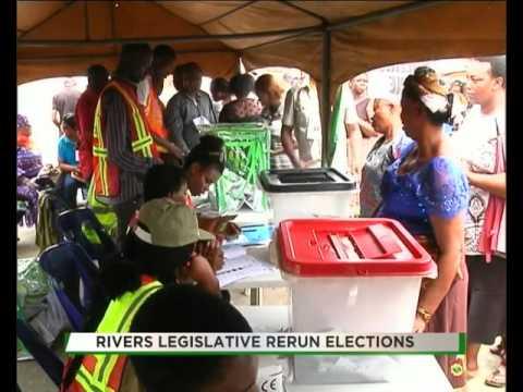 TVC BREAKFAST| REPORTERS' FILE | RIVERS LEGISLATIVE RERUN ELECTIONS