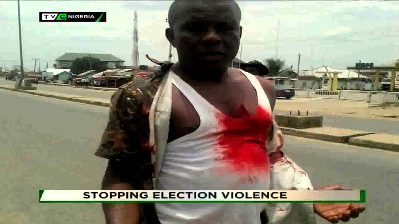 TVC BREAKFAST  TALK TIME  STOPPING ELECTION VIOLENCE