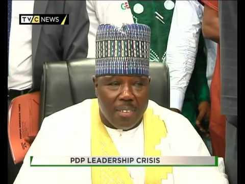 TVC BREAKFAST  TALK TIME  PDP LEADERSHIP CRISIS 2