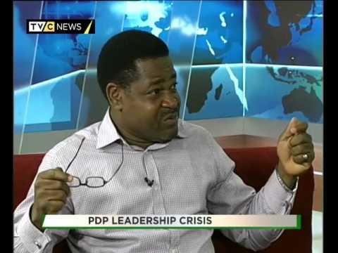 TVC BREAKFAST  TALK TIME  PDP LEADERSHIP CRISIS 1