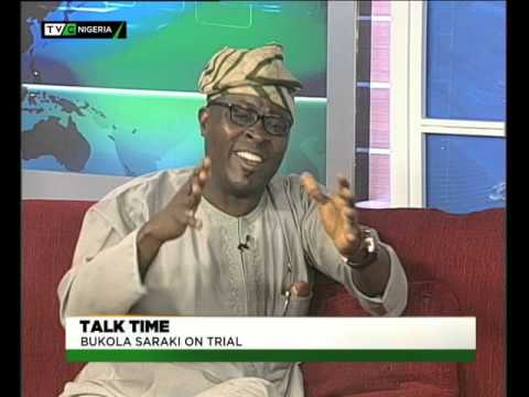 TVC Breakfast | Talktime | Bukola Saraki on Trial- Part A