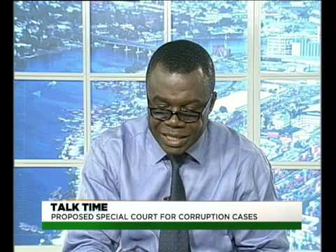 TVC Breakfast  Talktime   Special courts for trying corruption cases