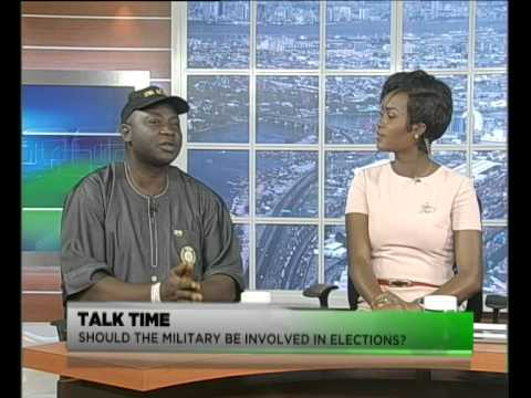 TVC Breakfast | Talktime | Should the Military be involved in elections?