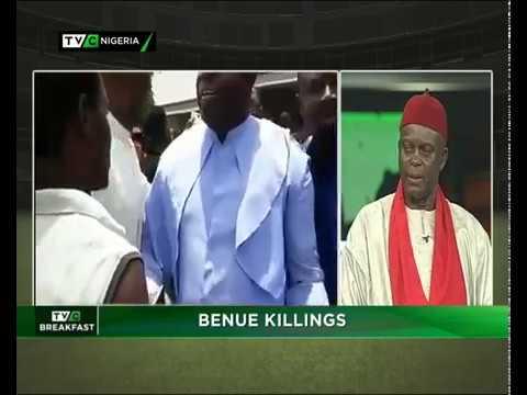 TVC Breakfast 26th April, 2018 | BENUE KILLINGS
