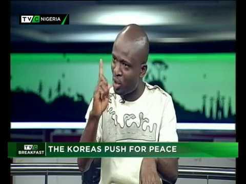 TVC Breakfast 30th April 2018   The Korea Push