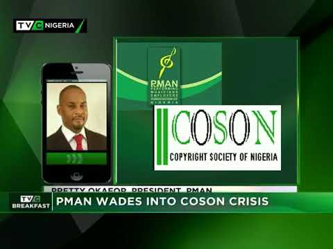 TVC Breakfast 4th May 2018 | PMAN wades into COSON crisis
