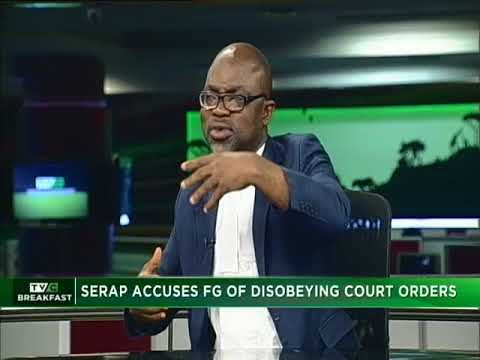 TVC Breakfast 16th May, 2018 | SERAP on Court Orders