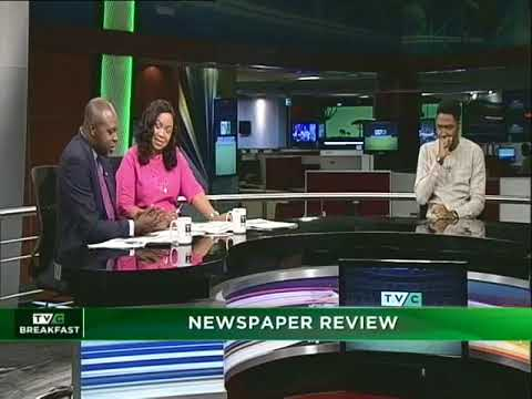 TVC Breakfast 16th May, 2018 | Newspaper Report