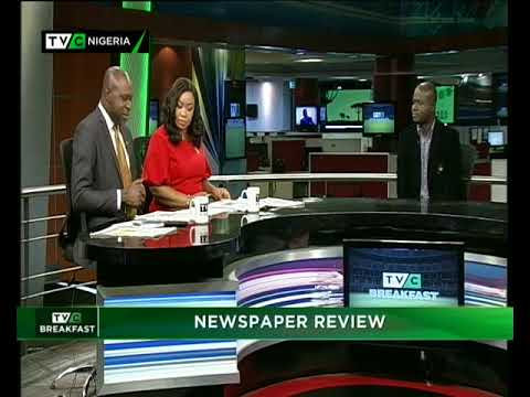 TVC Breakfast 15th May, 2018 |  Newspaper Review