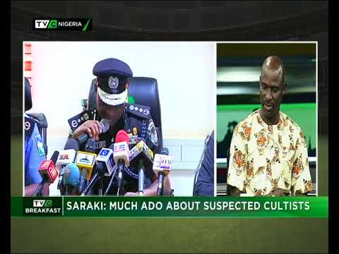 TVC Breakfast  18th May 2018   Saraki: Much Ado About Suspected Cultists