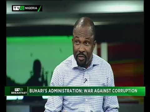 TVC Breakfast  31st May, 2018   Buhari Administration: Fight against Corruption