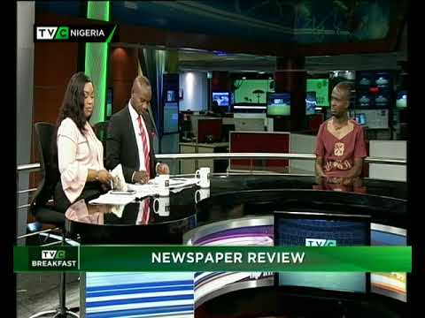 TVC Breakfast 30th May, 2018| Newspaper Review