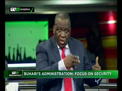 TVC Breakfast 30th May, 2018| Buhari's Administration – Focus on security