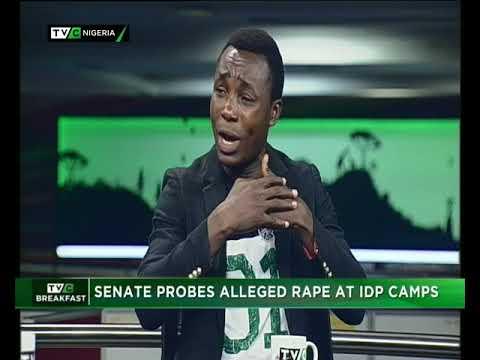 TVC Breakfast 1th June 2018  Senate Probes Alleged Rape at IDP Camps