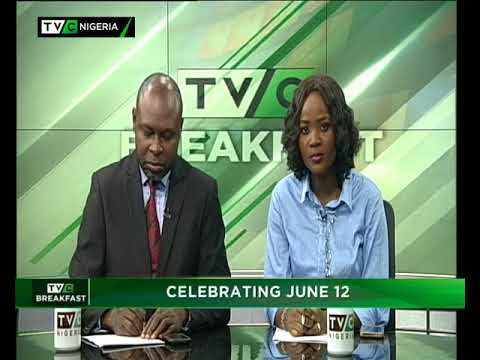 TVC Breakfast 12th June 2018 | Celebrating June 12: Jamiu Abiola's Experience