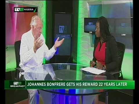 TVC Breakfast 11th June 2018 | Former Super Eagles' Coach, Johannes Bonfrere gets his reward