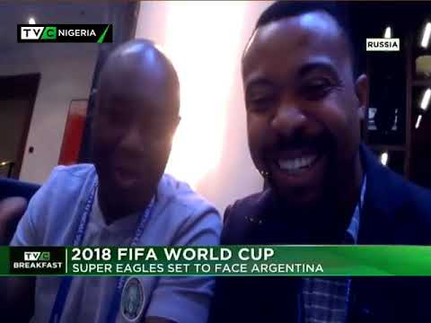 BFS 26th June 2018 | Nigeria vs Argentina Game Preview with Promise Efoghe and Toyin Ibitoye