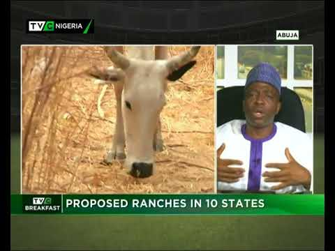 TVC Breakfast 25th June 2018 | Nigeria's Proposed Ranches in 10 states