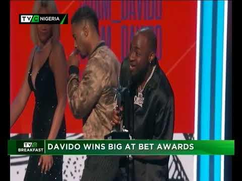 TVC Breakfast  29th June 2018 | Davideo wins big at BET Awards