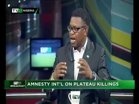 TVC Breakfast 2nd July 2018 | Amnesty Int'l on Plateau Killings