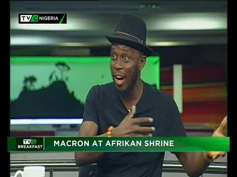 TVC Breakfast 6th July 2018 | Macron At African Shrine