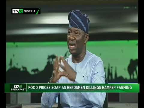 TVC Breakfast 10th July, 2018 | Food prices rise due to herdsmen killings