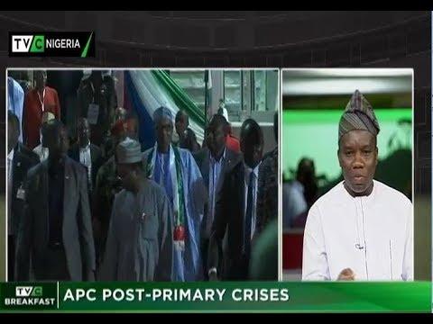 TVC Breakfast 25th Oct., 2018   APC post primary crisis