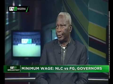 TVC Breakfast 25th Oct., 2018 | Minimum Wage – NLC VS Gov't