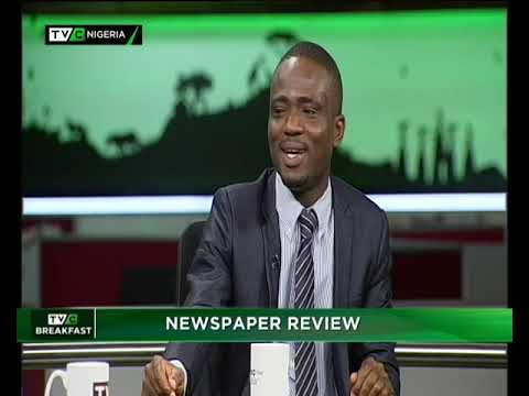 TVC Breakfast 26th October 2018 | Newspaper Review with Cyril Abaku