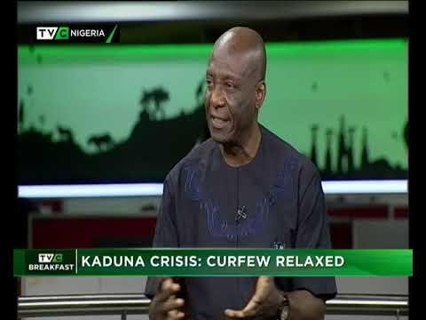 TVC Breakfast Show 30th Oct., 2018    Kaduna Crisis