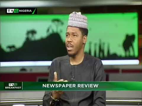 TVC Breakfast 31st October 2018 |  Newspaper Review