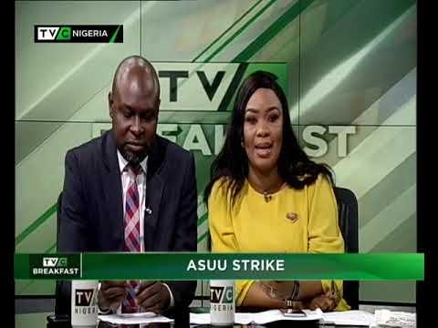 TVC Breakfast 5th November 2018   ASUU Strike