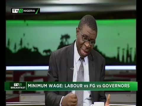 TVC Breakfast 5th November 2018 | Minimum Wage: Labour vs FG vs Governors