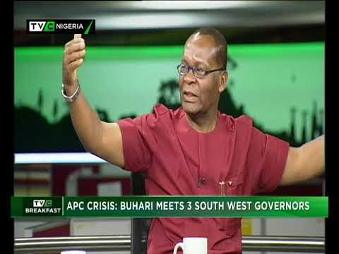 TVC Breakfast 6th November 2018 | APC crisis: Buhari meets 3 Southwest governors
