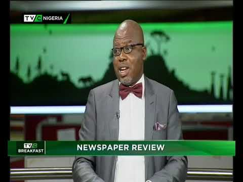 TVC Breakfast 7th Nov., 2018 |  Newspaper Review