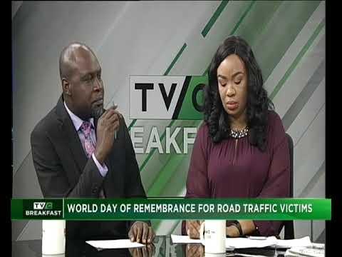 TVC Breakfast Nov.12th, 2018 World Day Rem Road Traffic Victims