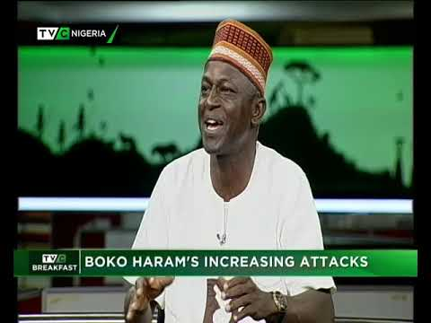 TVC Breakfast 13th November 2018 | Boko Haram's increasing Attacks
