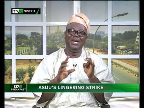 TVC Breakfast 13th November 2018   ASUU's Lingering Strike