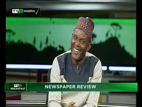 TVC Breakfast 13th November 2018| Newspaper Review