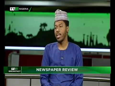 TVC News Breakfast  14th Nov., 2018 | Newspaper Review