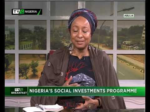 TVC Breakfast  15th Nov., 2018   Nigeria's Social Investments Programme