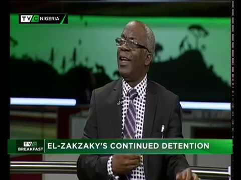 TVC Breakfast  15th Nov., 2018 | EL Zakzaky continuous Detention