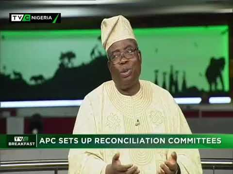 TVC Breakfast 22nd Nov. 2018|APC Sets Up Reconciliation Committee