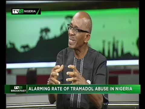 TVC Breakfast 23rd November 2018   Alarming rate of Tramadol abuse in Nigeria