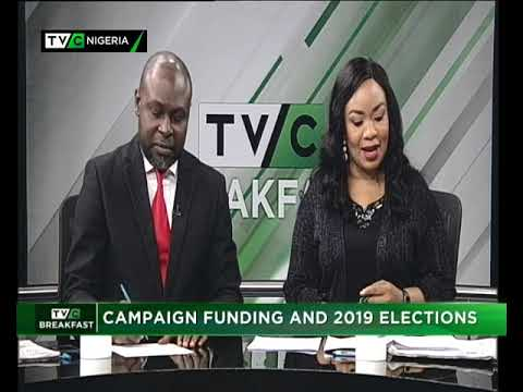 TVC Breakfast 23rd November 2018 | Election Campaign Fund
