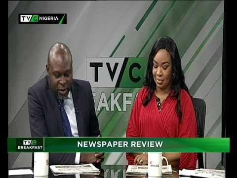 TVC Breakfast 29th November 2018   Newspaper Review